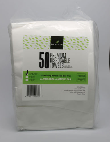 Disposable Towels (50/pack)