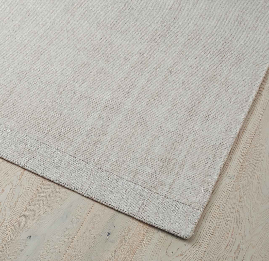 Travertine Floor Rug - Buff