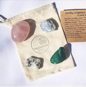 Fertility, Pregnancy & Postpartum Crystal Set
