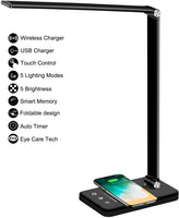 YETE LED Desk Lamp with Wireless Charger