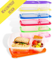 Bitmo Box | Meal Prep Containers | 7 Pack | Leak Proof | Reusable