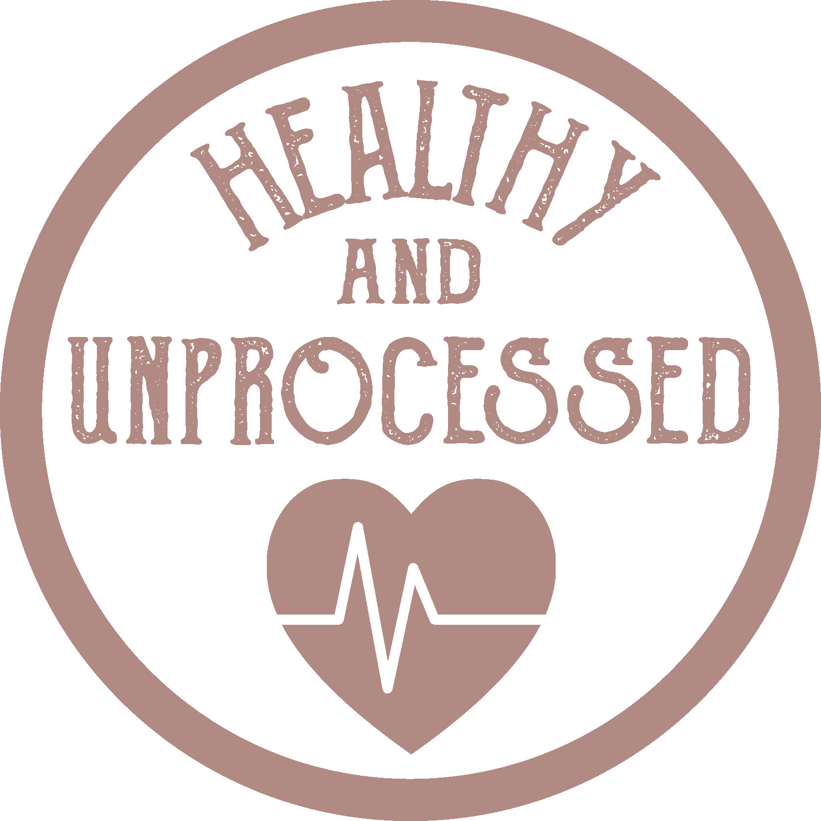 healthy and unprocessed icon