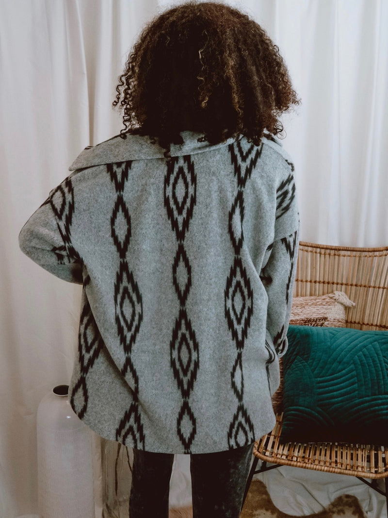 Savvy's Aztec Shacket
