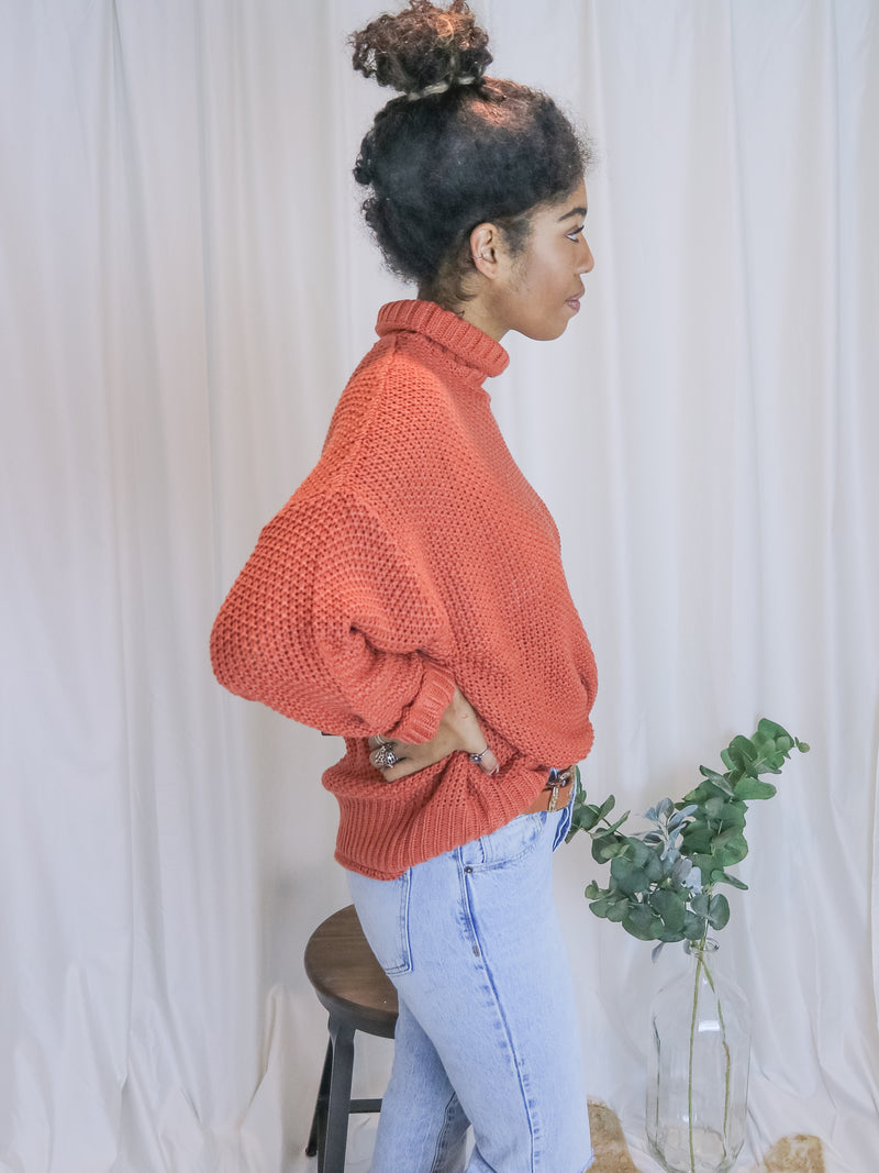 Knitted Rusted Sweater