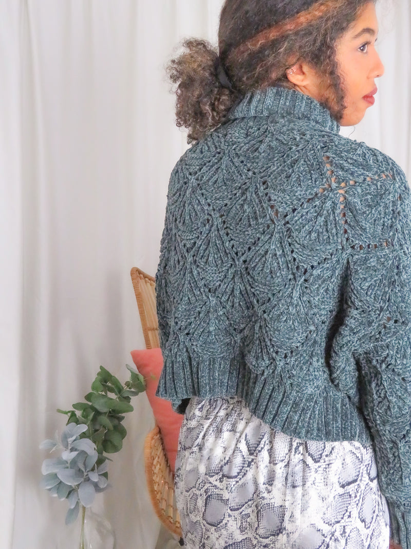 Emerald Dreams Knit Sweater