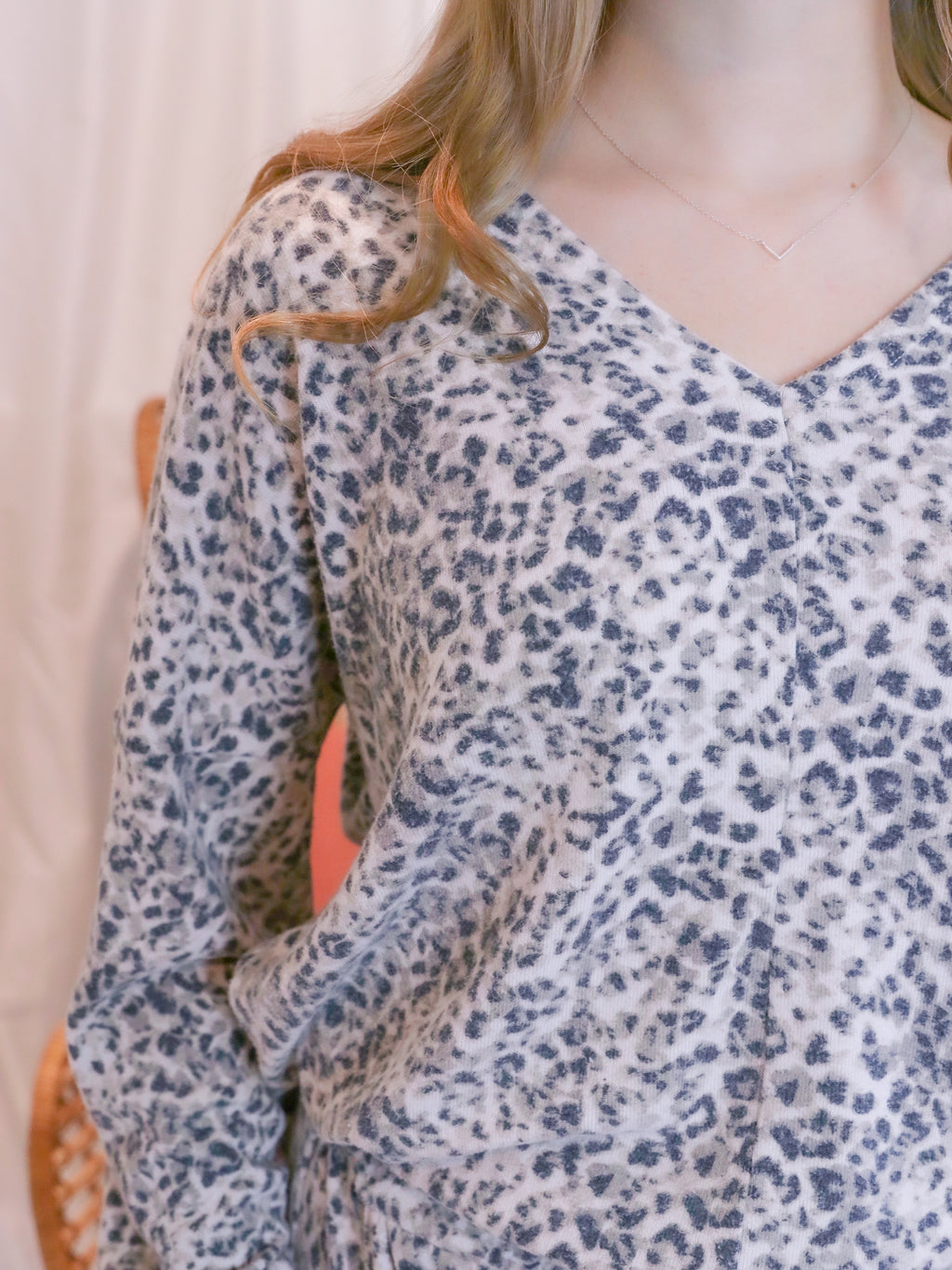 Leopard Meows Top