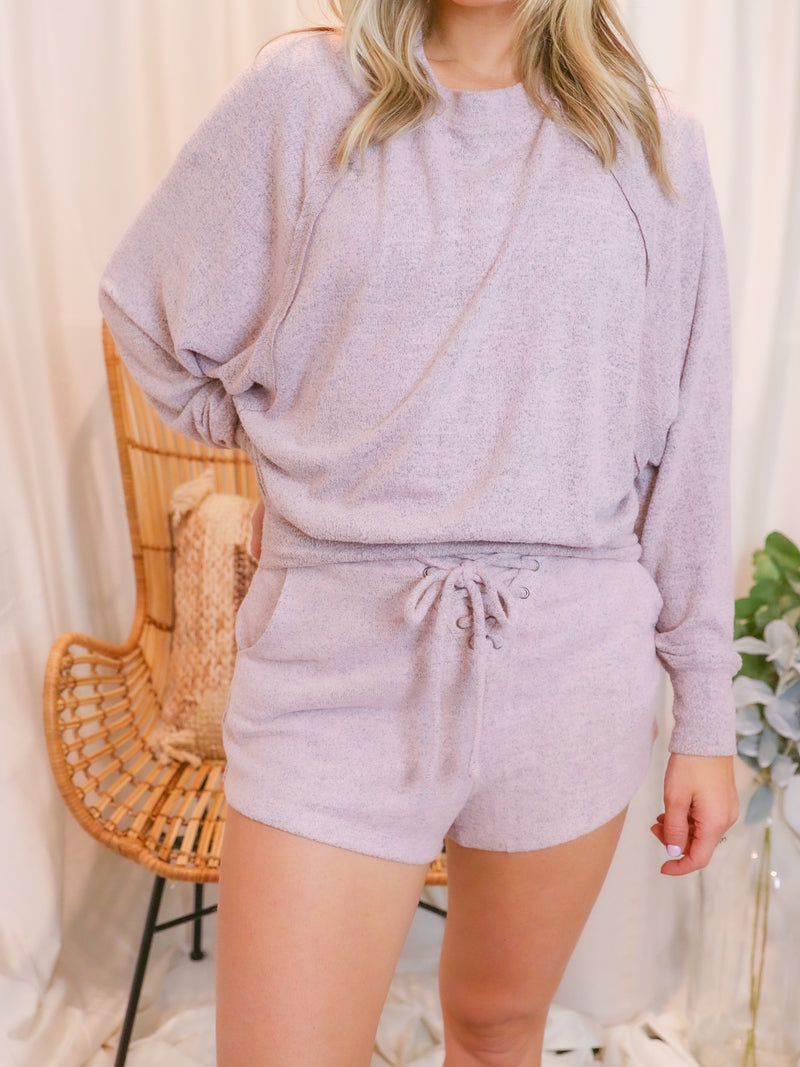 Beautifully Cropped Rose Sweater
