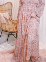 Fairy Peach Maxi Dress