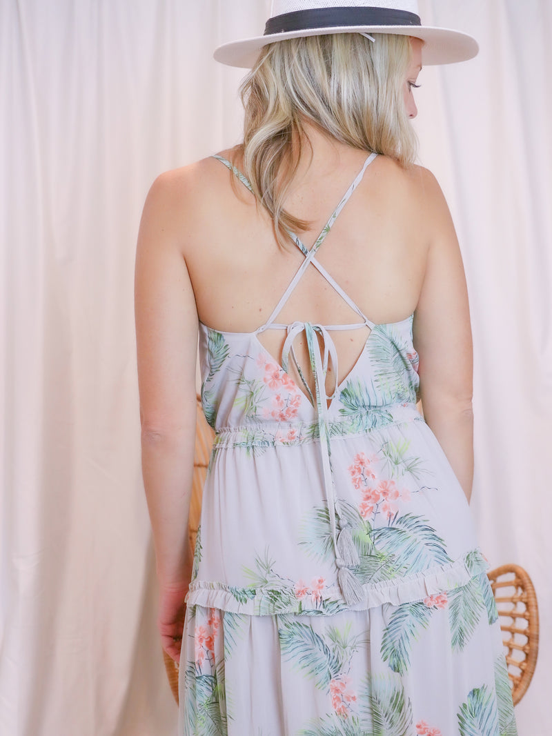 Lost In St. Tropez Maxi Dress