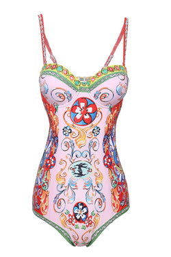 Dolce Digital Print One Piece