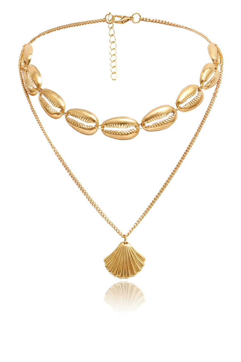 Gold Shell Necklace
