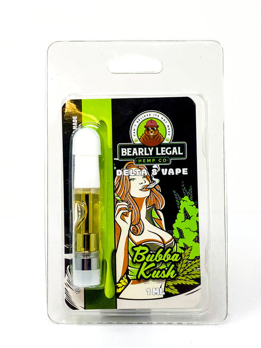Bubba Kush | Delta 8 D8 Vape Tank - Bearly Legal Hemp