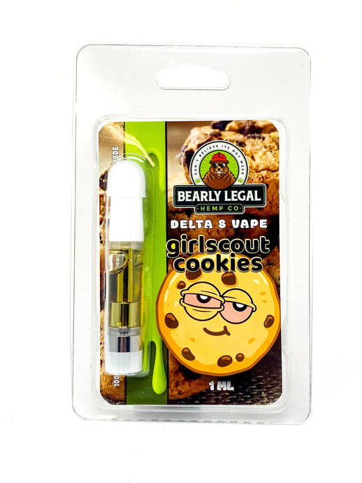 Girl Scout Cookies | Delta 8 D8 Vape Tank - Bearly Legal Hemp