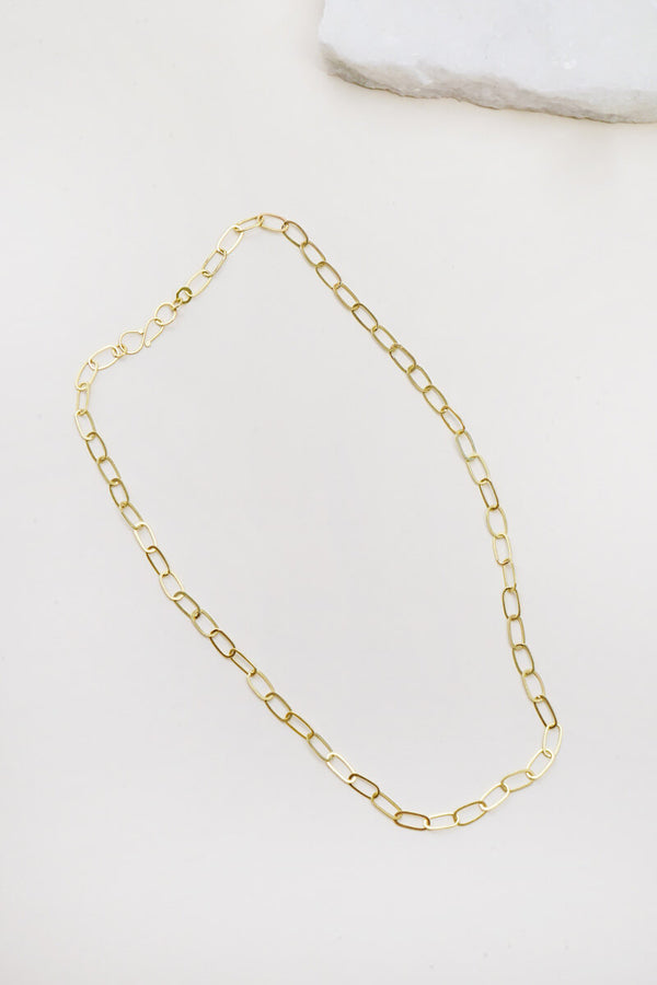Ovale Gold Chain