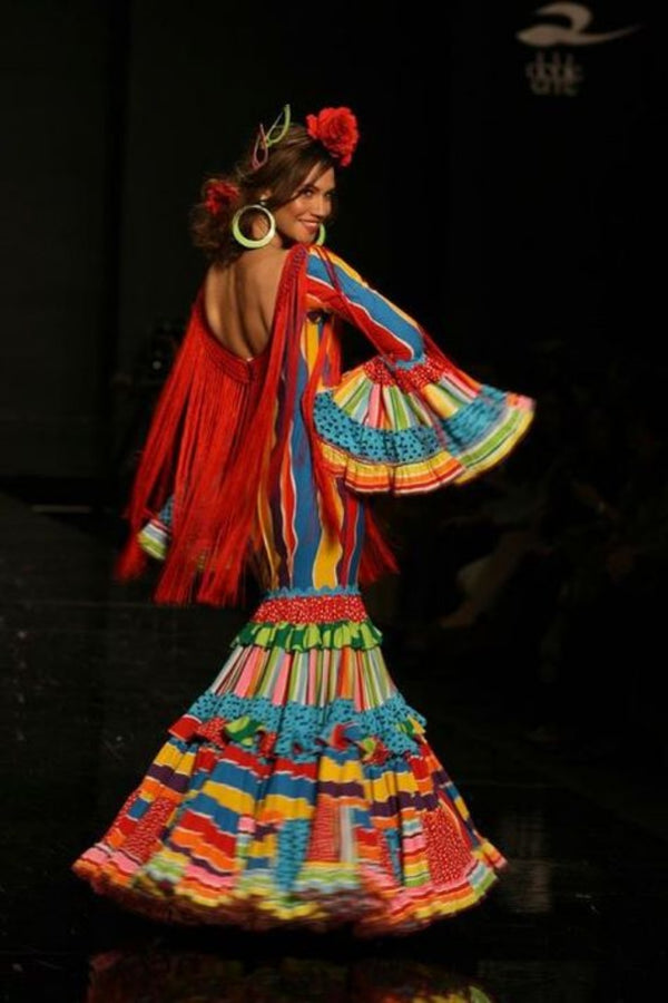 Custom-made Flamenco Dress