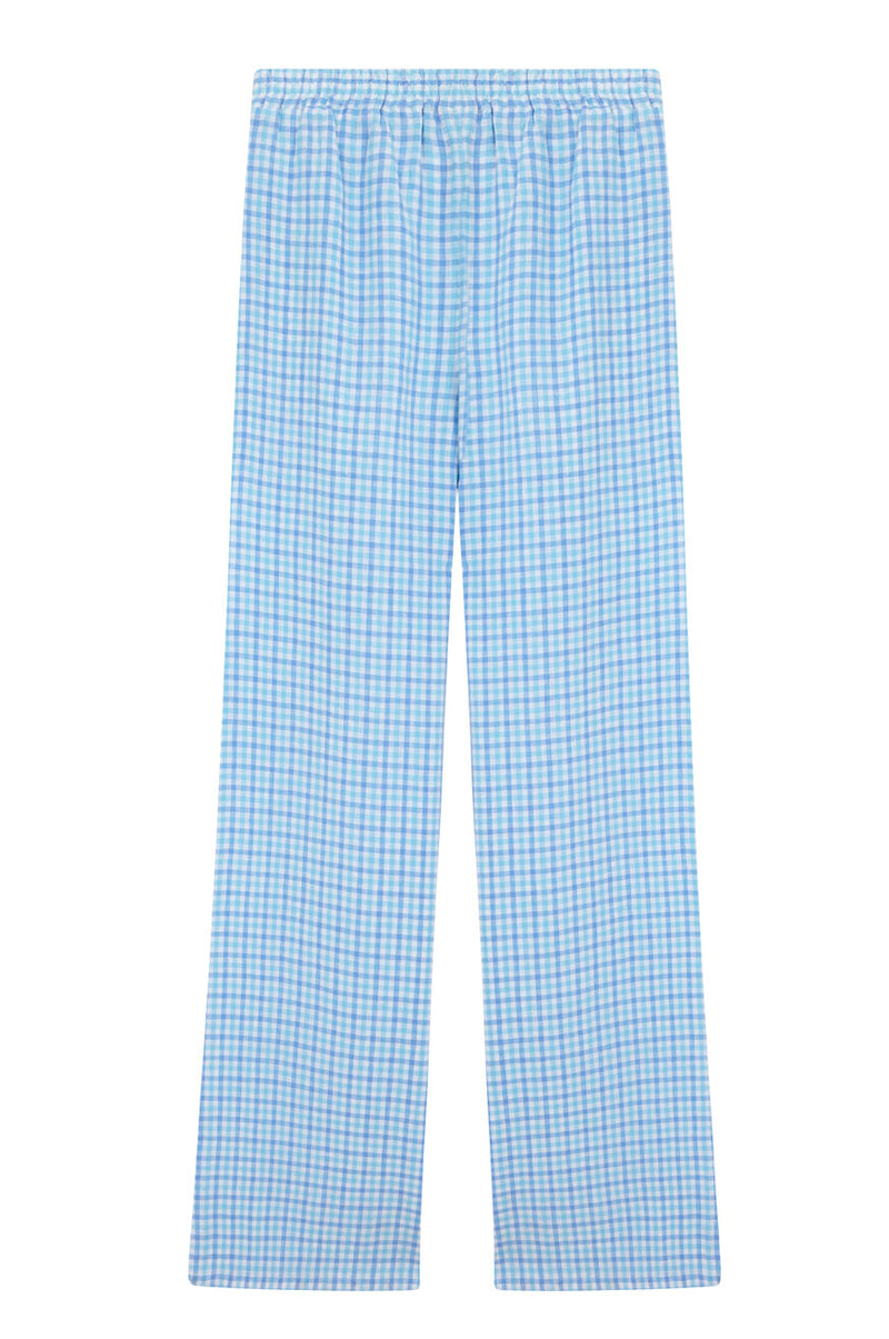 Checkered Blue Trousers