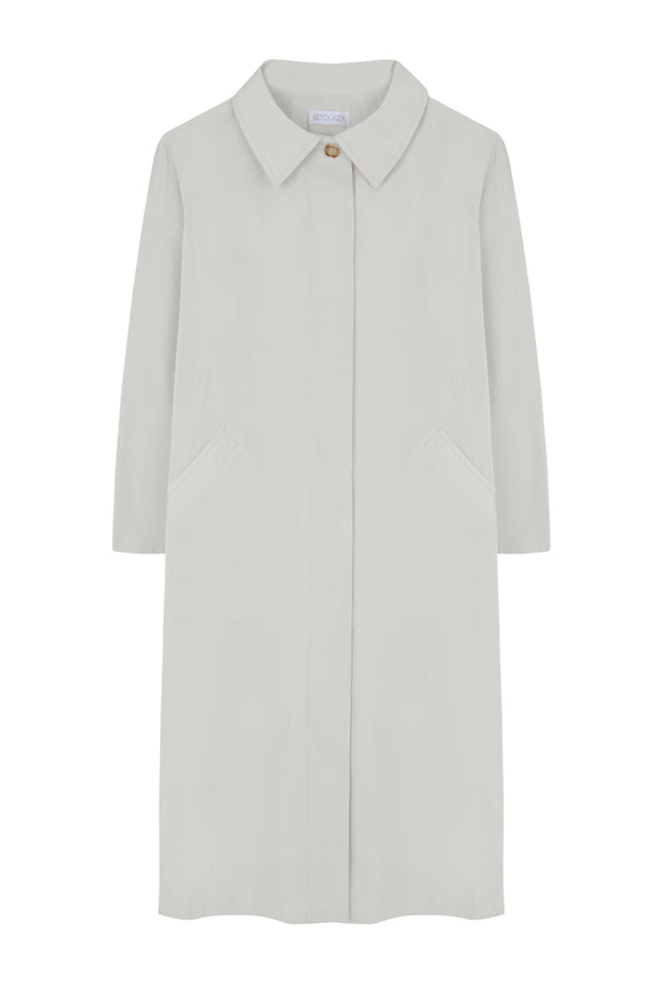 Pearl Trench Coat