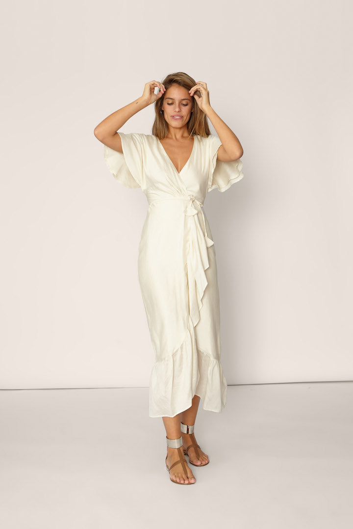 Peace Silk Capri Dress