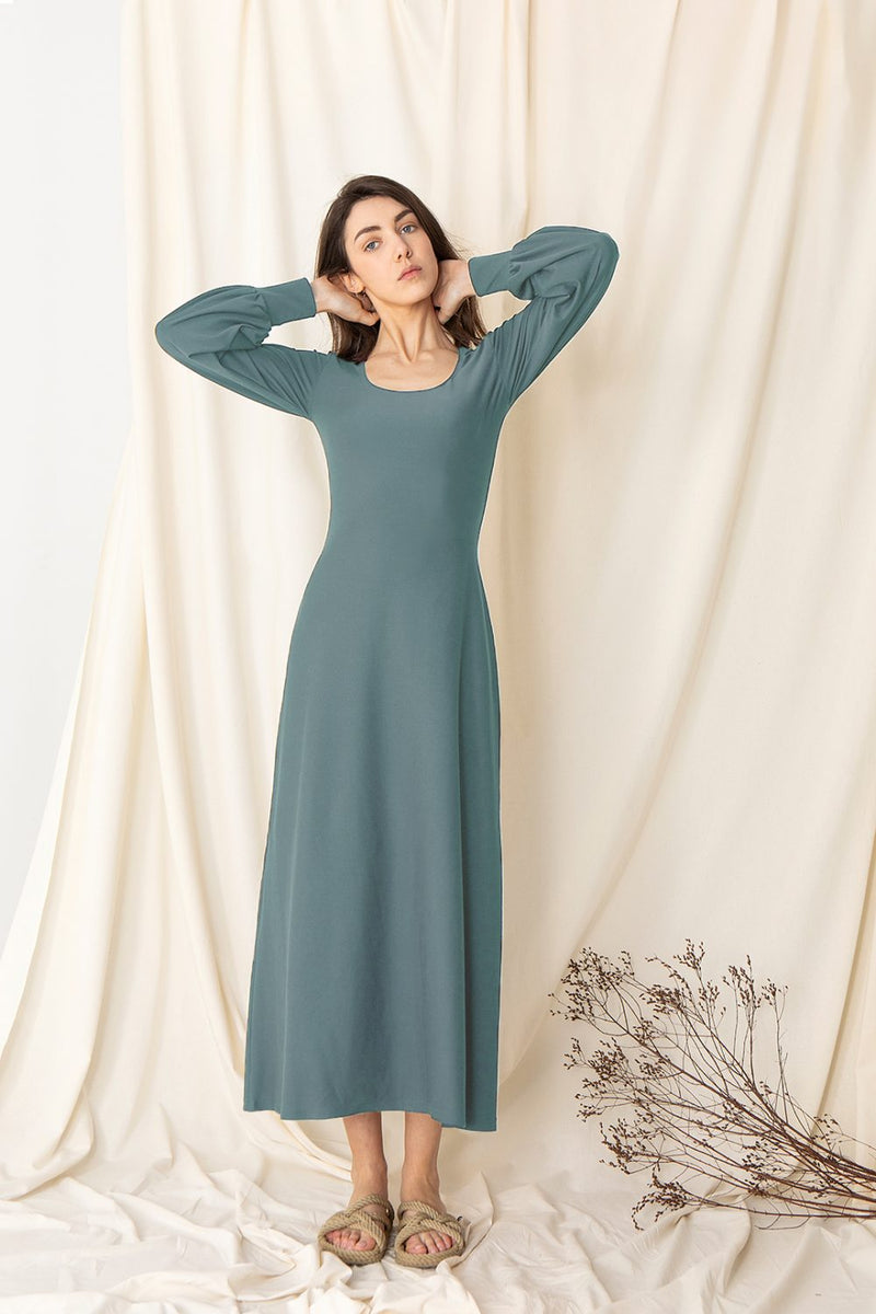 Chamarel Dress - Blue