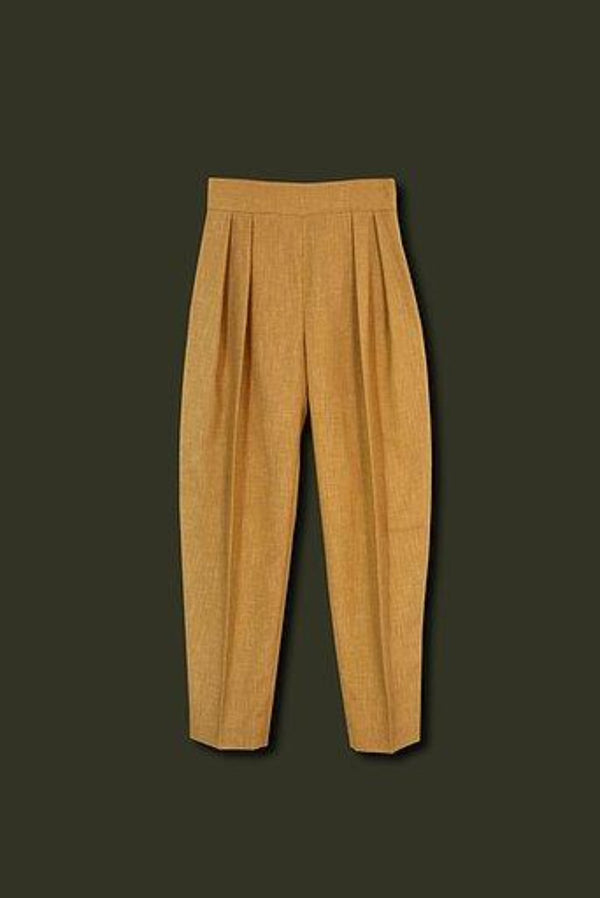 Mustard Opsom Trousers