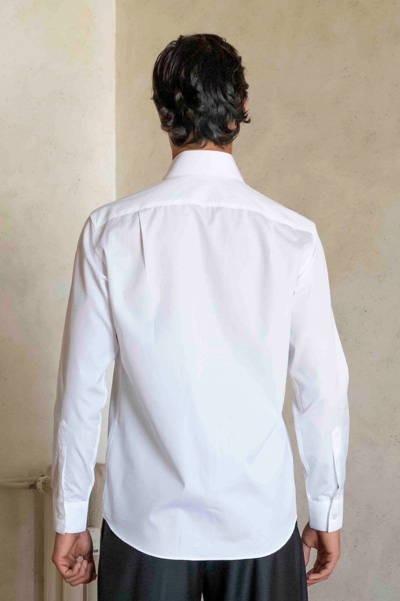 Shirt Pinned Collar