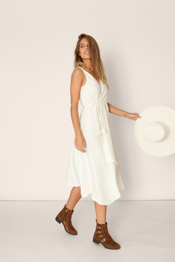 Siro Dress : Off-white