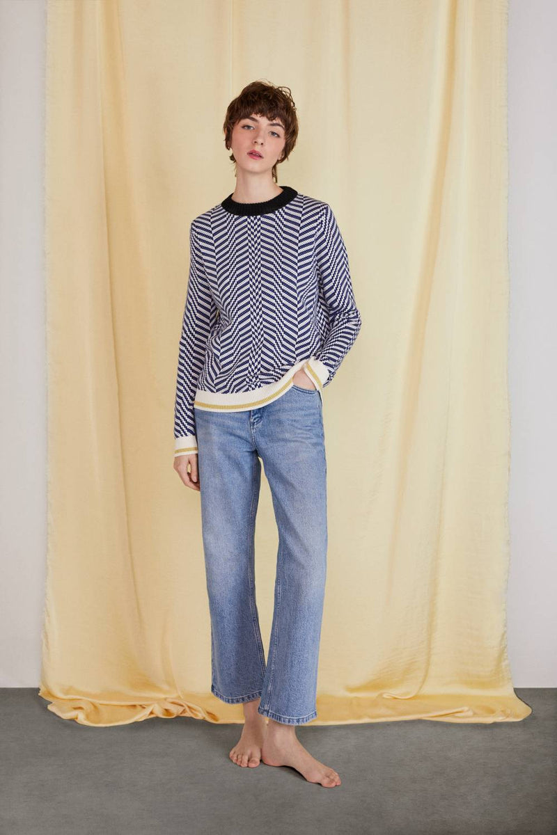 COTTON KNIT JUMPER