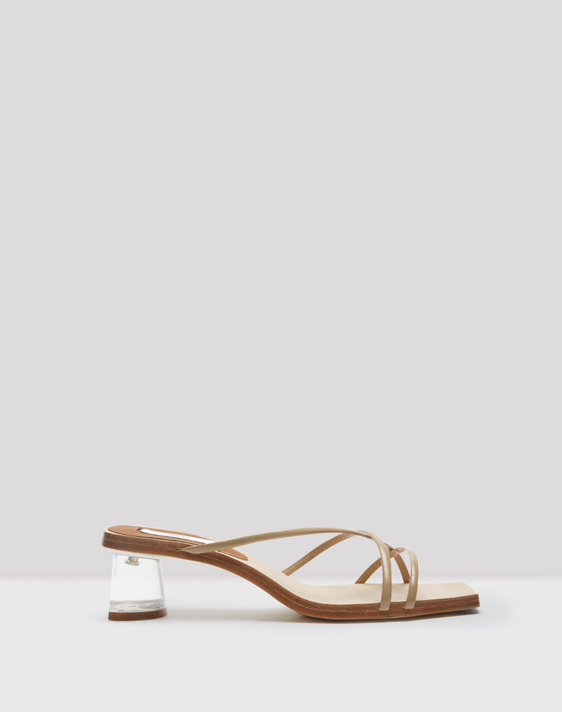 Nikki Sand Leather Sandals