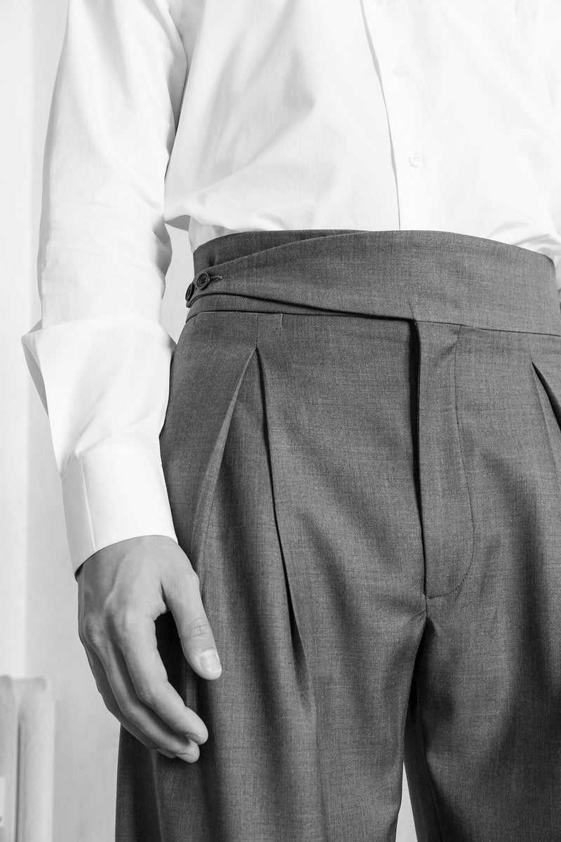 Trousers Bedford - Grey