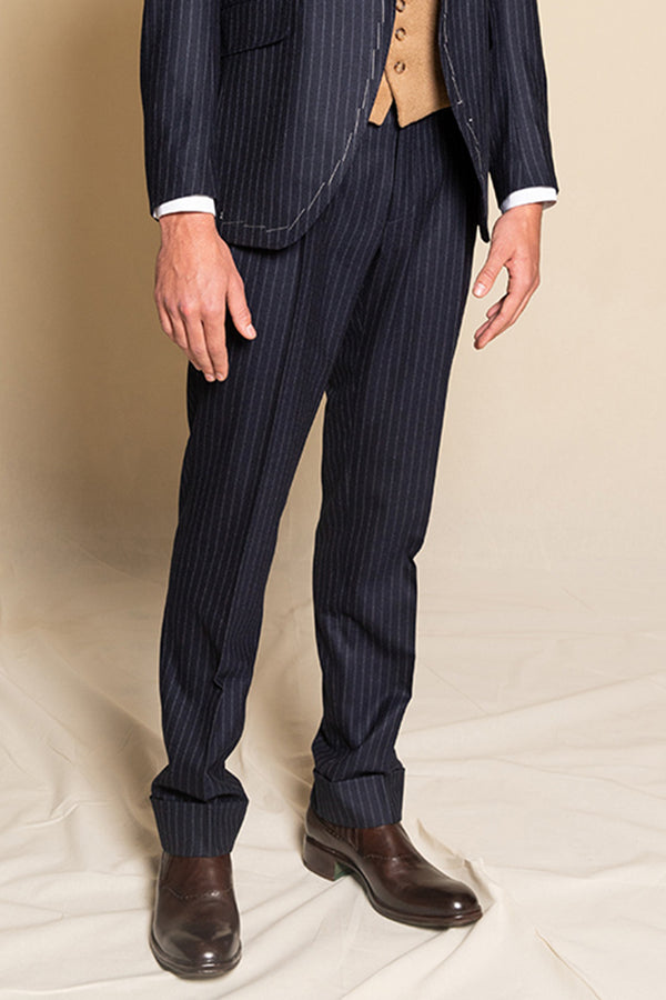Trousers Cayon - Pinstripes