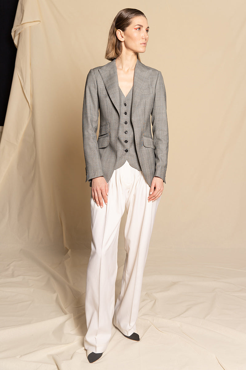 Trousers Ceresa - ivory