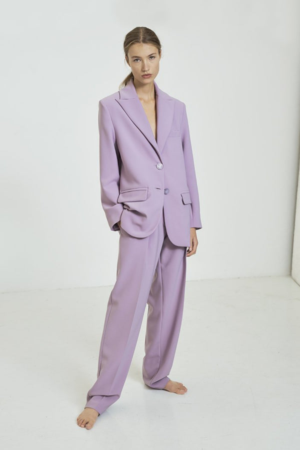 Tailored Lilac Trousers
