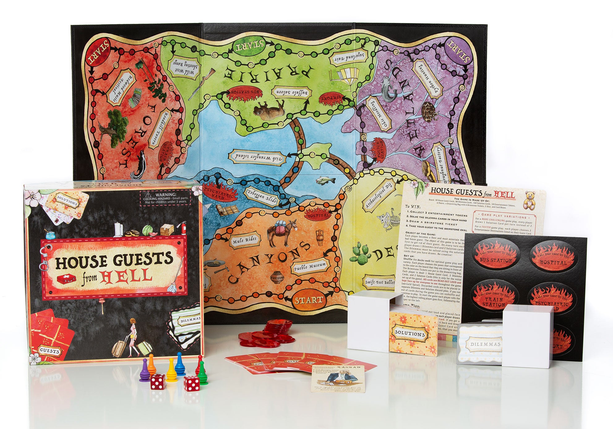 House Guests From Hell board game