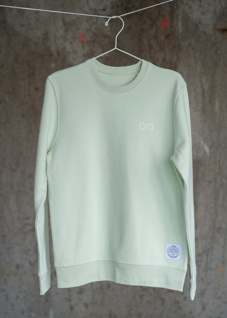ST.EILEN-Sweat GENUG. Stem Green S