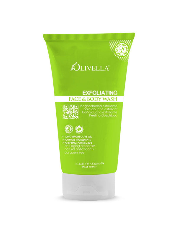 Olivella Exfoliating Body Wash - Olivella Europe