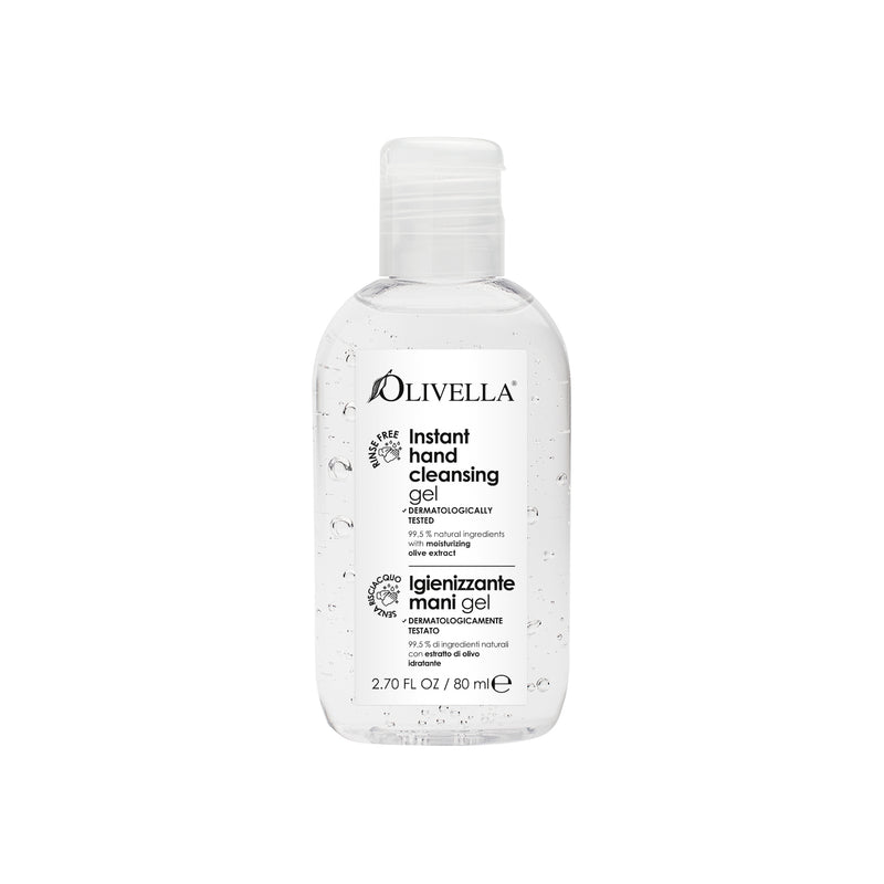 Instant Hand Cleansing Gel - Olivella Europe
