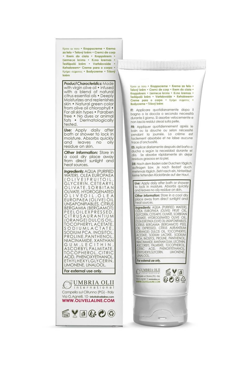 Olivella Body Cream - Olivella Europe