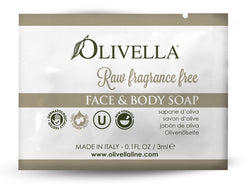 Raw Fragrance Free Liquid Soap Sample - Olivella Europe