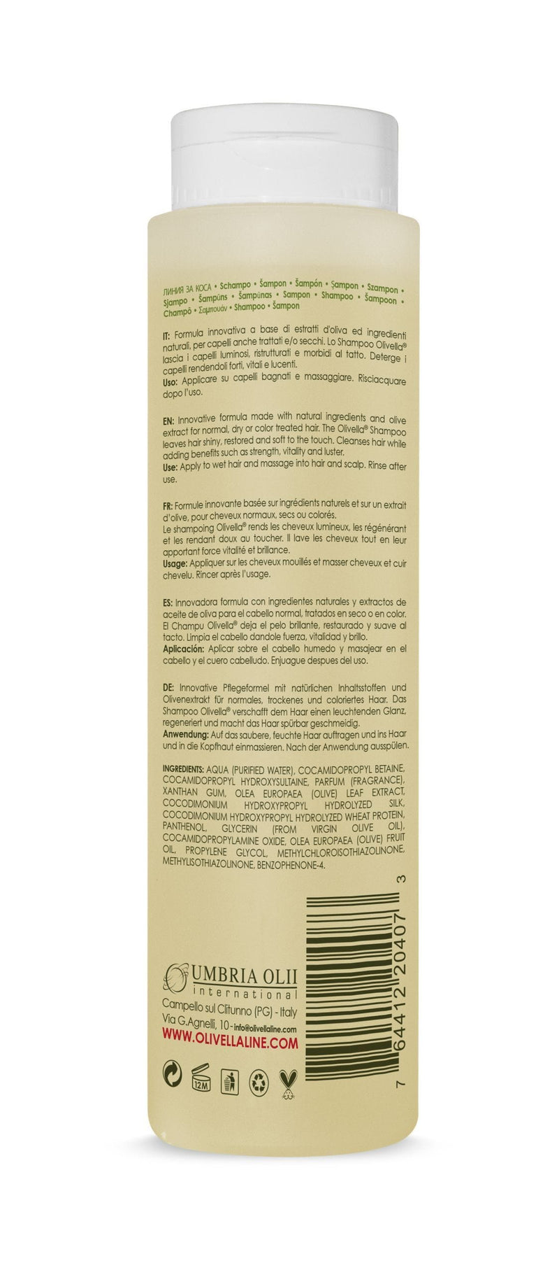 Olivella The Olive Shampoo - Olivella Europe