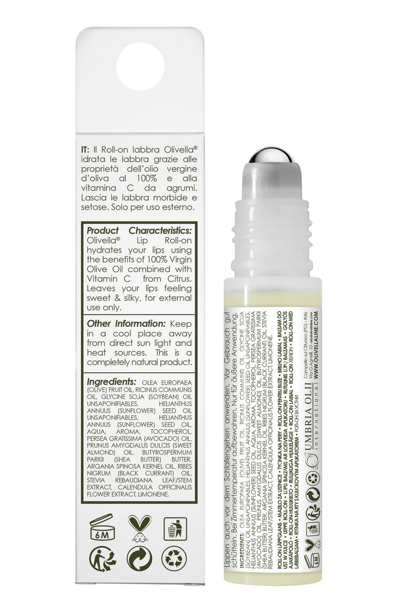 Lip Roll-on with Limoncello - Olivella Europe