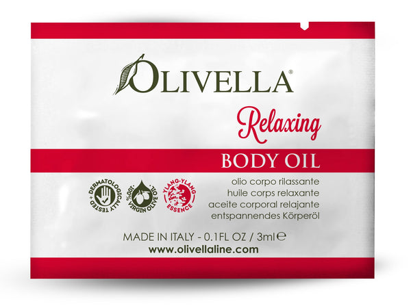 Relaxing Body Oil Sample - Olivella Europe