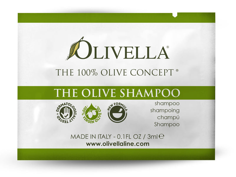 Olivella The Olive Shampoo Sample - Olivella Europe