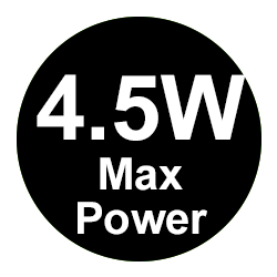 45W Max Power