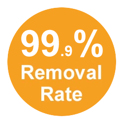 99% Removal Rate