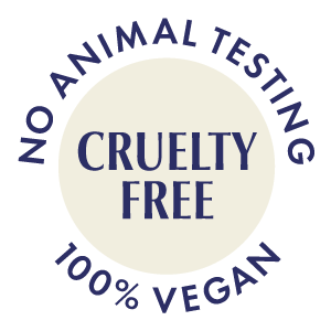 Cruelty-free and never tested on animals