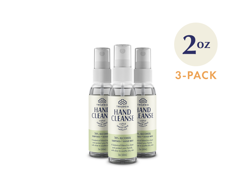 Hand Cleanse Terpenes+™ Spray · 2oz - 3-Pack - Trilogía