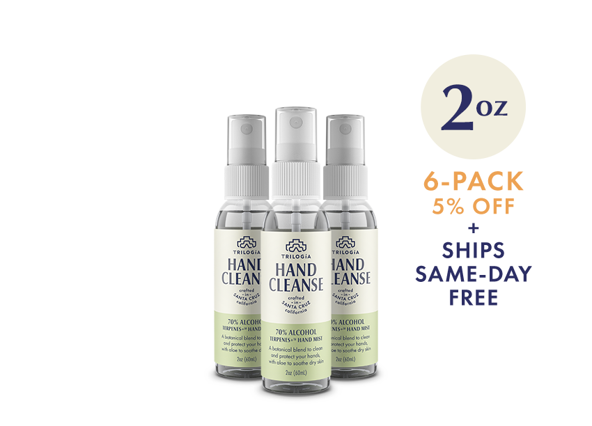 Hand Cleanse Terpenes+™ Spray · 2oz - 6-Pack - Trilogía