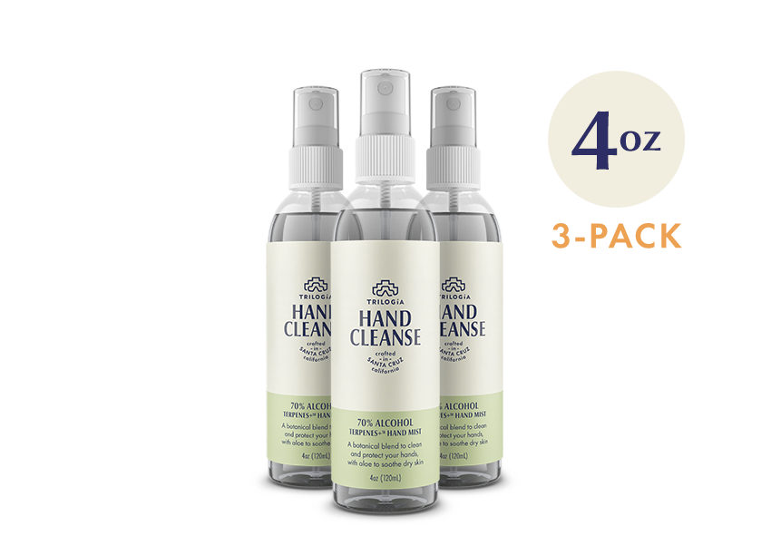Hand Cleanse Terpenes+™ Spray · 4oz - 3-Pack - Trilogía