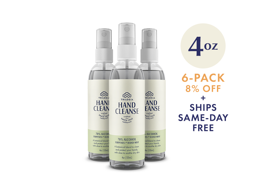Hand Cleanse Terpenes+™ Spray · 4oz - 6-Pack - Trilogía