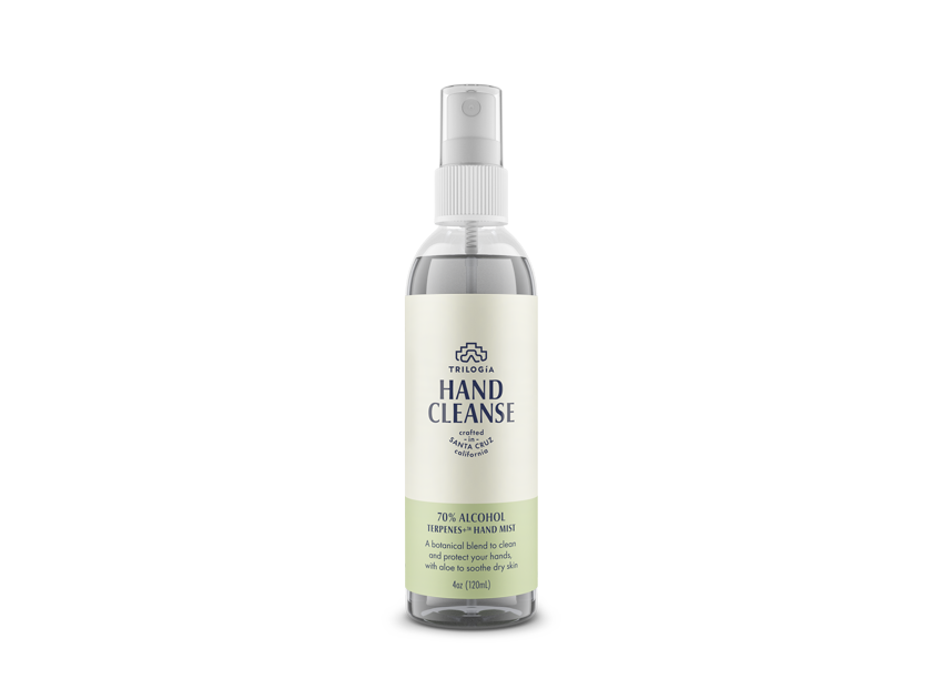 Hand Cleanse Terpenes+™ Spray · 4oz - Trilogía